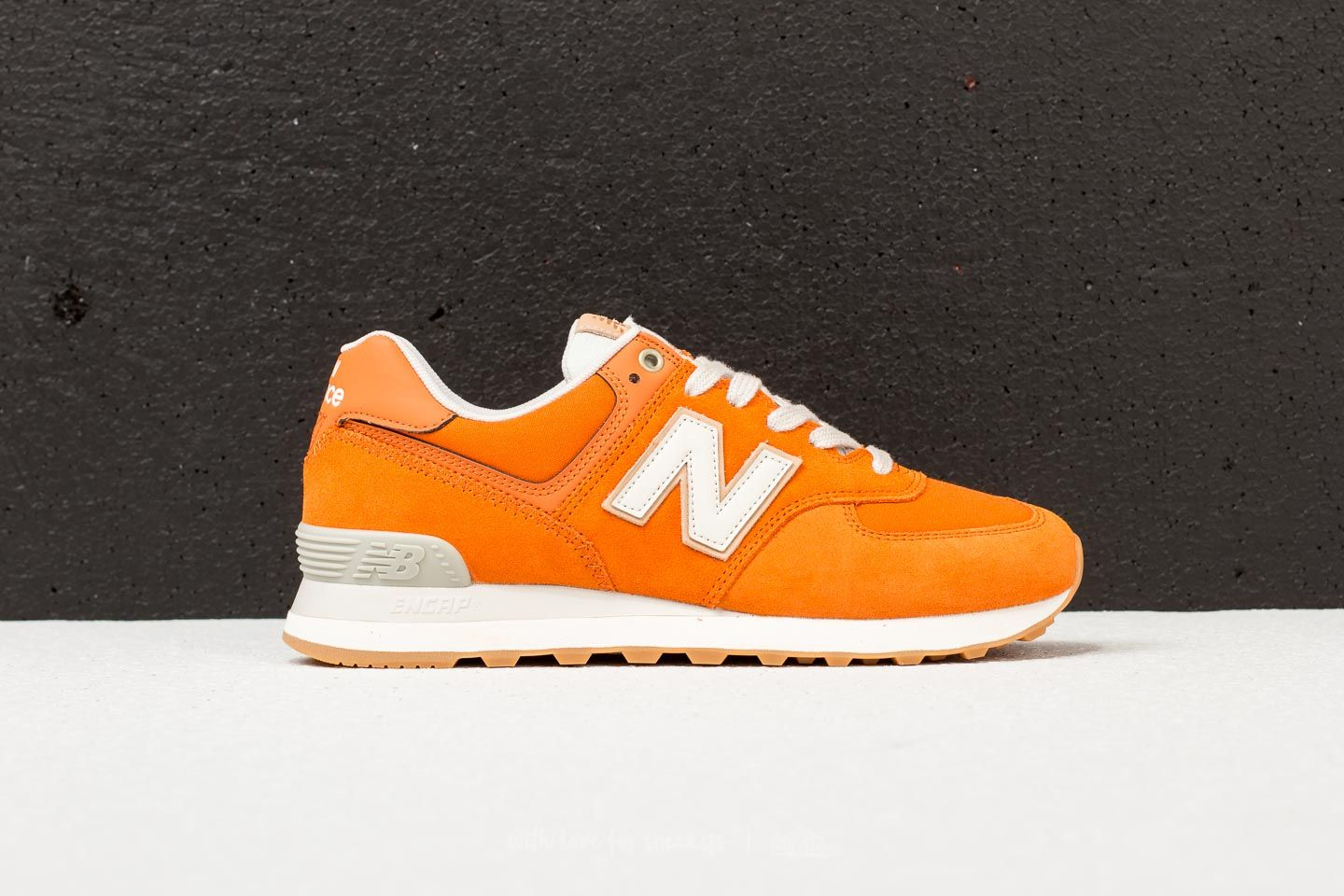 new balance 574 homme orange